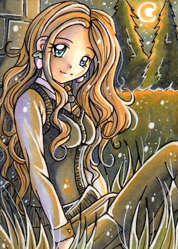 Luna Lovegood by Mei-yu
