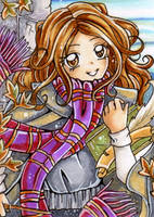 Hermione Granger by Mei-yu