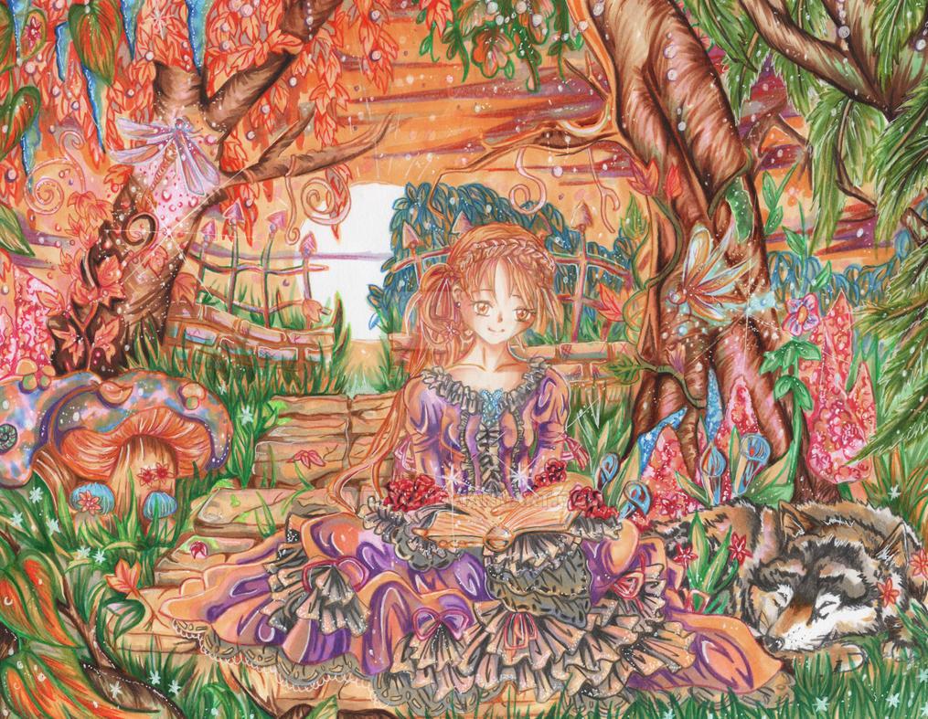 Magical Garden by Mei-yu