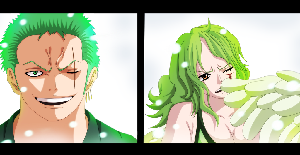 zoro vs monet by KhalilXPirates