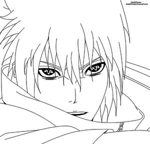 Uchiha Sasuke Lineart