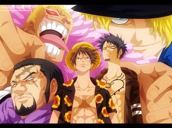 One Piece - Dressrosa Arc by KhalilXPirates