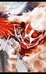 Shingeki No kyojin - Eren Vs Colossal Titan