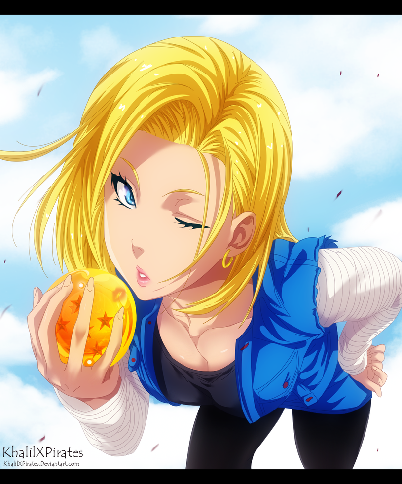 Nude Android 18 Dragon Ball Z by Sakimichan - desexcom