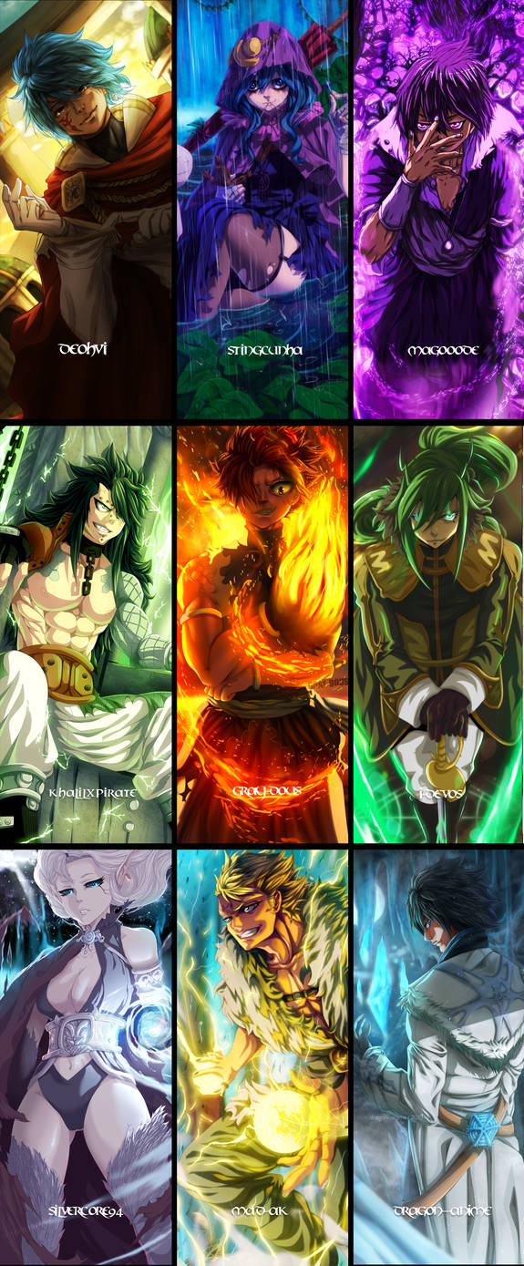 Fairy Tail - Collab by KhalilXPirates