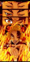 Demon Slayer - Kyojuro Rengoku