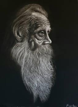 Drawing old Man