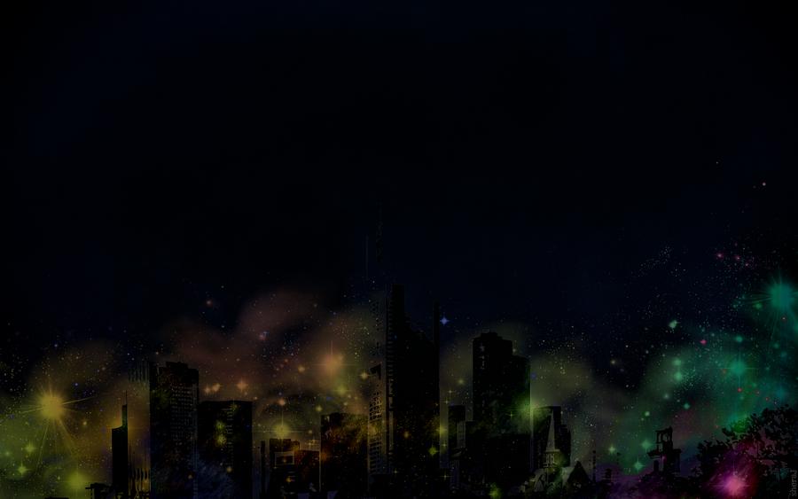 My Black Night cities by shera00