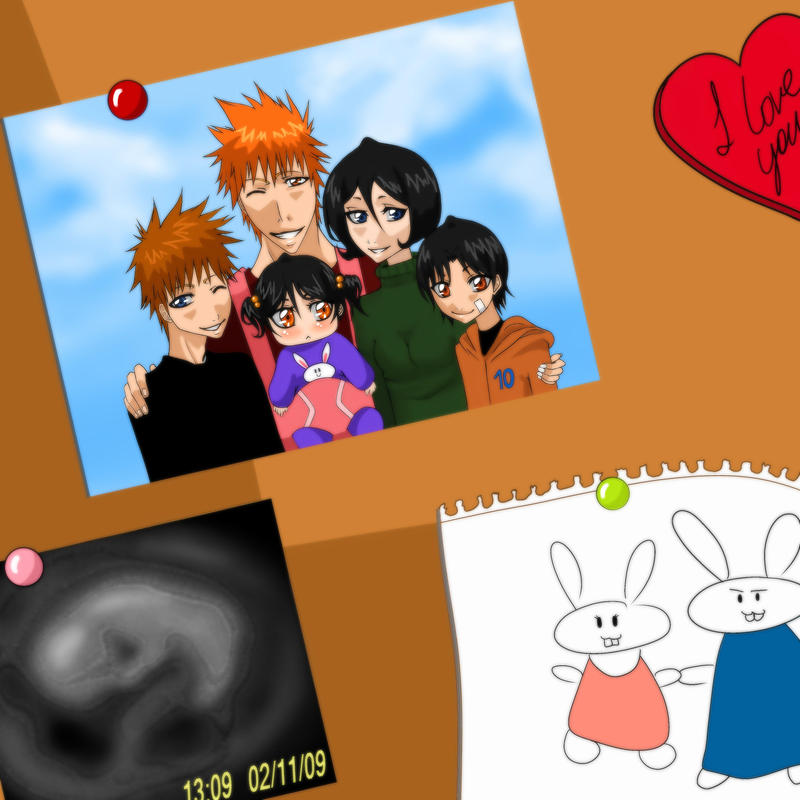 Rukia X Ichigo Family | www.pixshark.com - Images ...