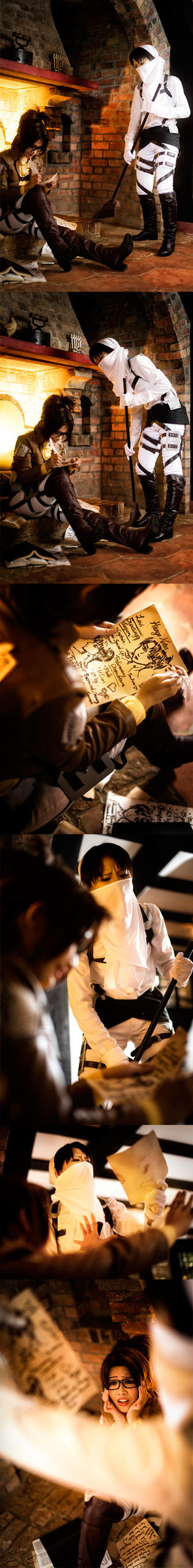 Shingeki no Kyojin: Caught in The Act by Itchy-Hands