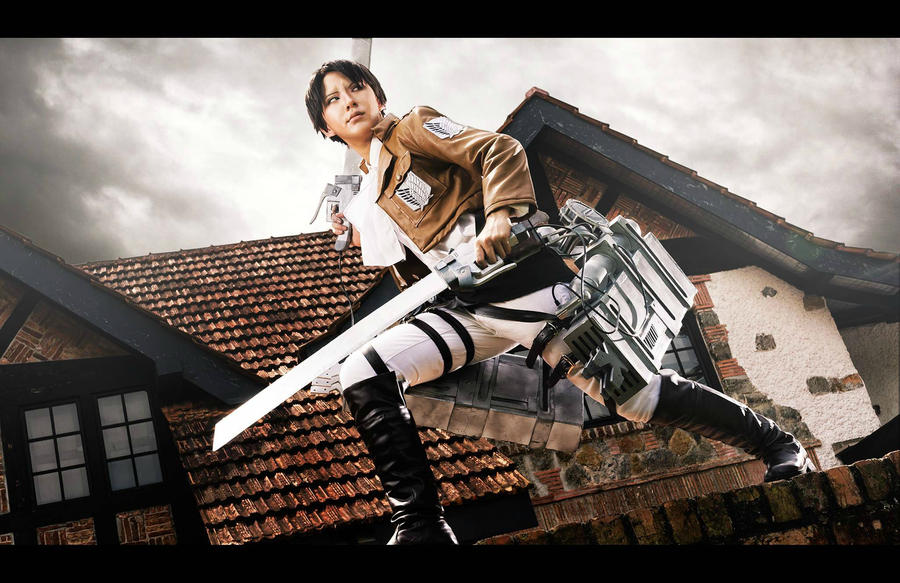 Shingeki no Kyojin: Rivai by Itchy-Hands