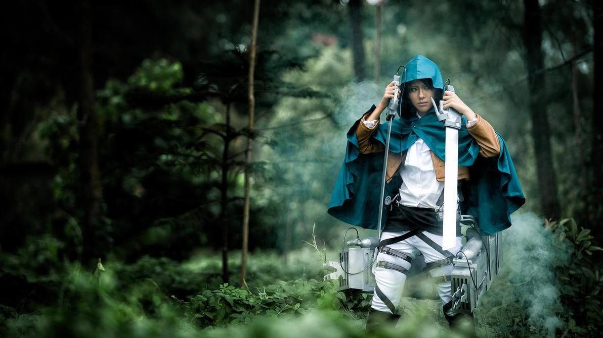 Shingeki no Kyojin: Rivai II by Itchy-Hands