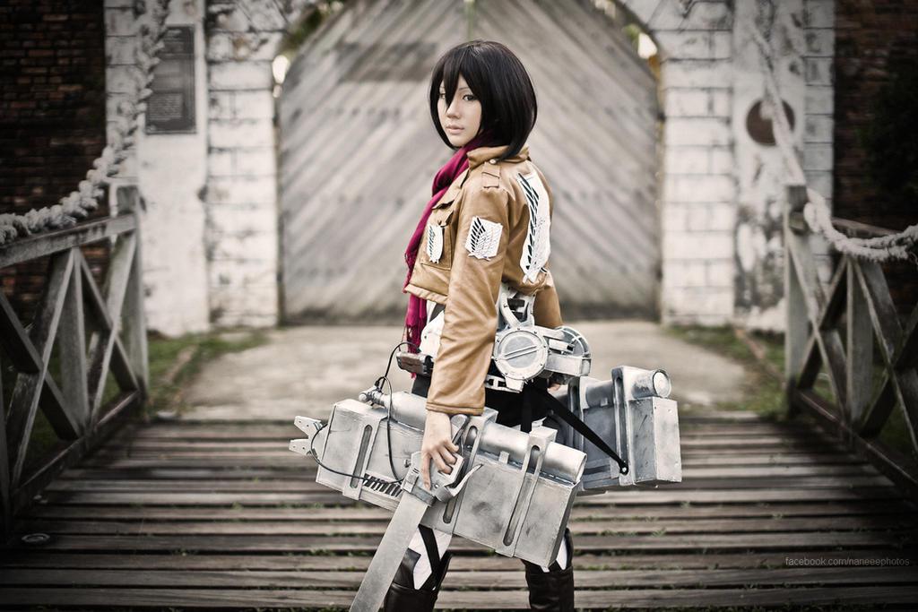 Shingeki no Kyojin: Mikasa Ackerman II by Itchy-Hands