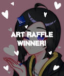 500+ Art Raffle Winner~