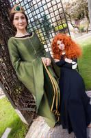 Merida and Elinor 2 by cloebird123414
