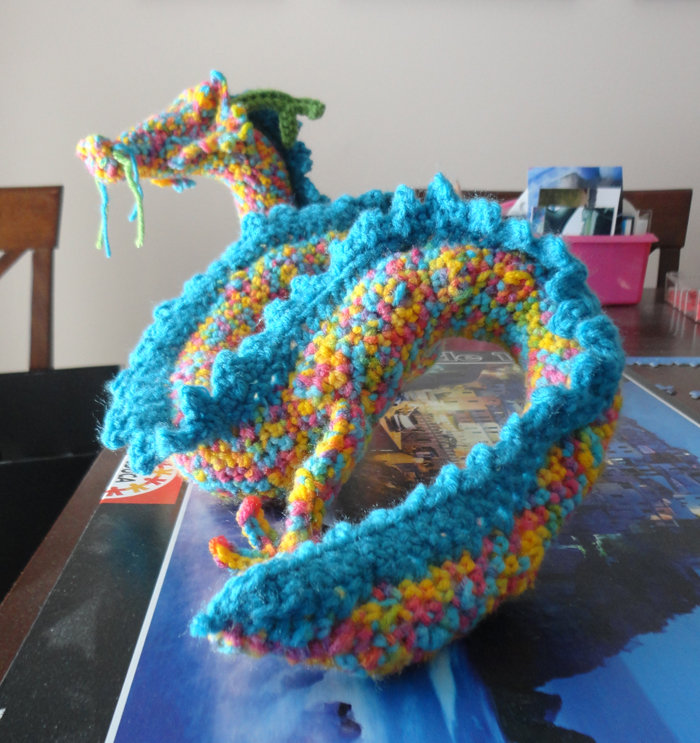 Crochet Plush Dragon By Little Moose On Deviantart