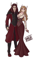 Commission: Zhikal and Andriava