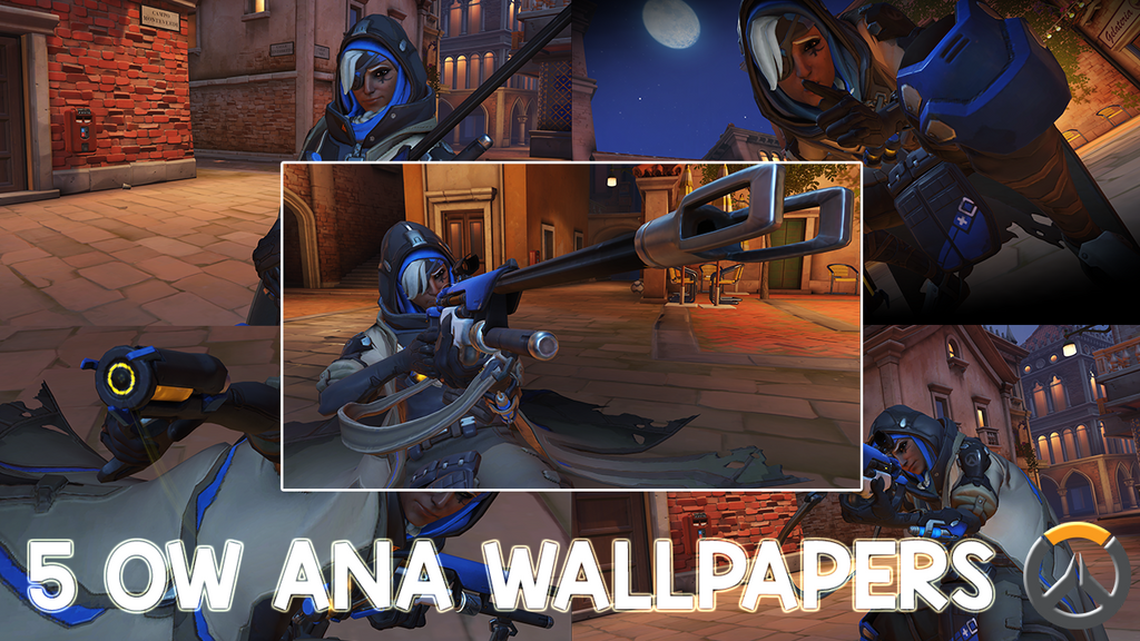 5 Hd Overwatch Ana Wallpapers By Gzgamehopper On Deviantart