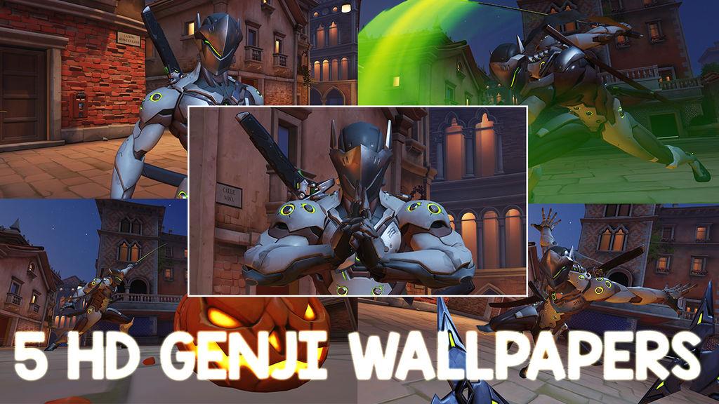 5 Hd Overwatch Genji Wallpapers By Gzgamehopper On Deviantart