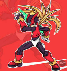 Rockman Zero by VincentCrappy