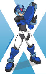 Rockman X by VincentCrappy