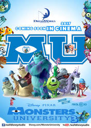 MonsterUniversity poster by aman150611