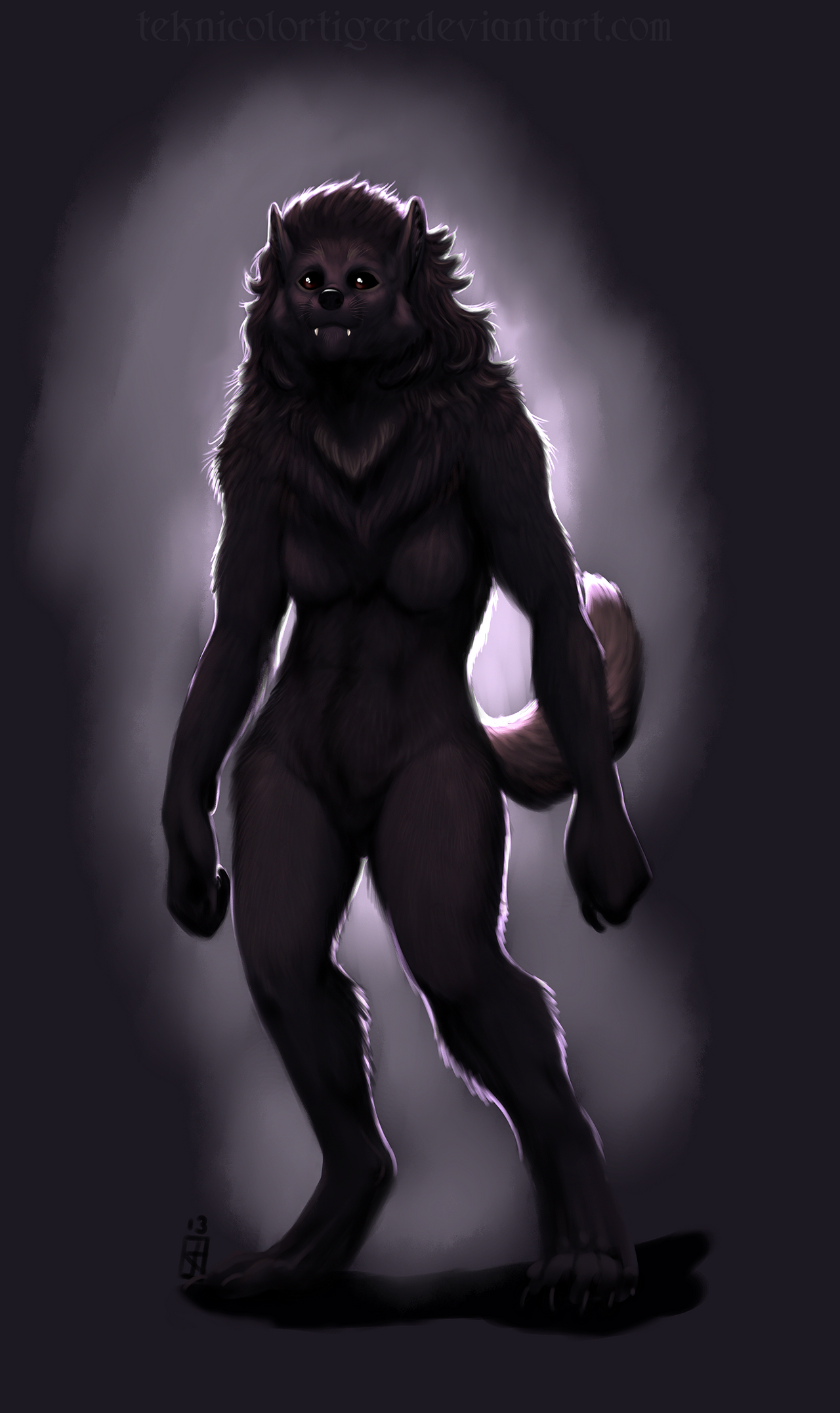 I Used To Be A Werewolf... by TeknicolorTiger