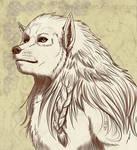 Werewolf Portrait: Arania