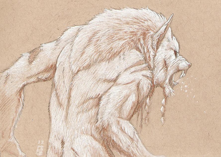 Hvitr Ulfr by TeknicolorTiger