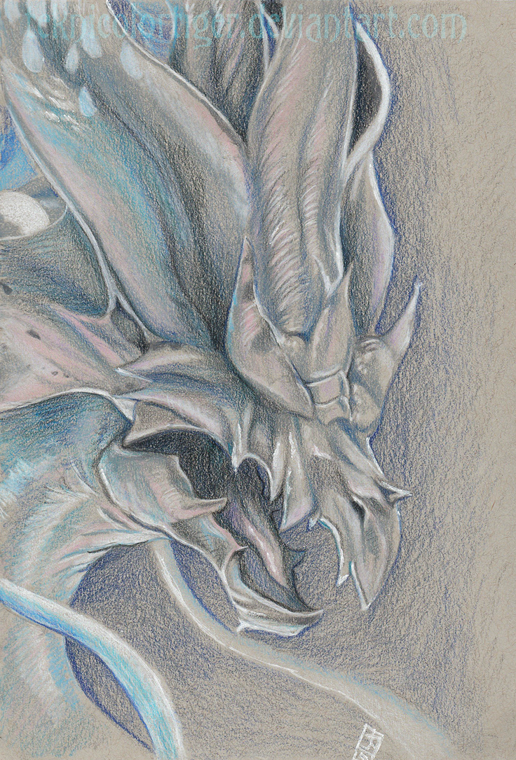 Seath the Scaleless by TeknicolorTiger