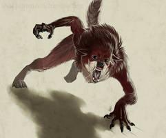 The Littlest Werewolf by TeknicolorTiger