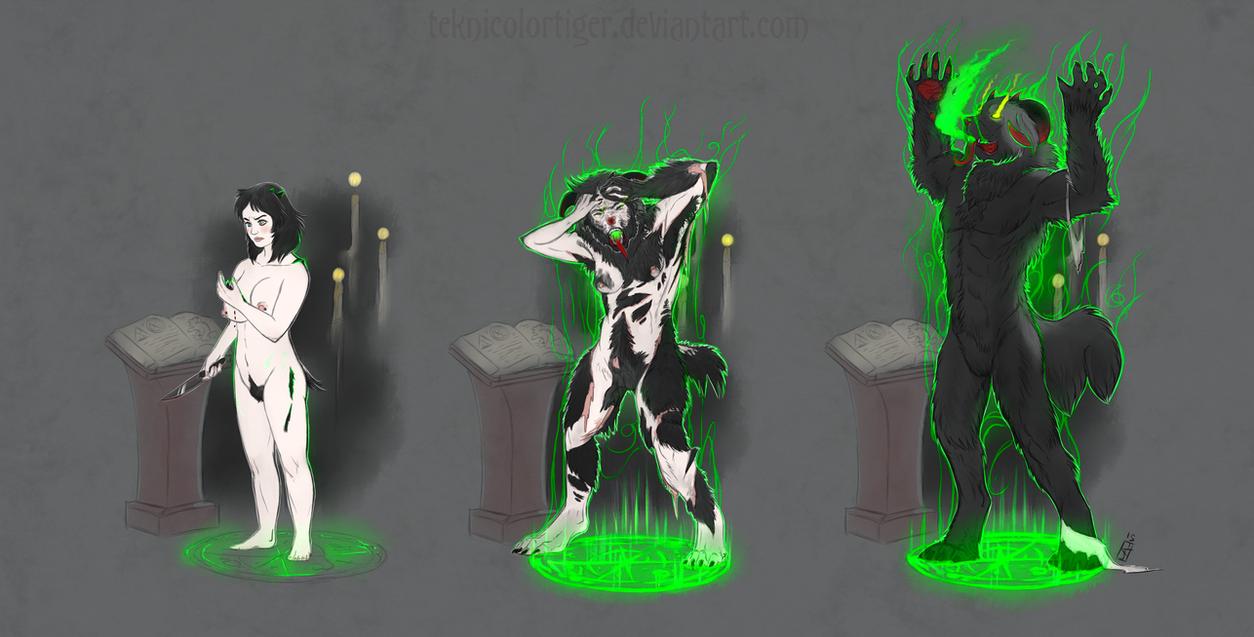Demonic Possession by TeknicolorTiger