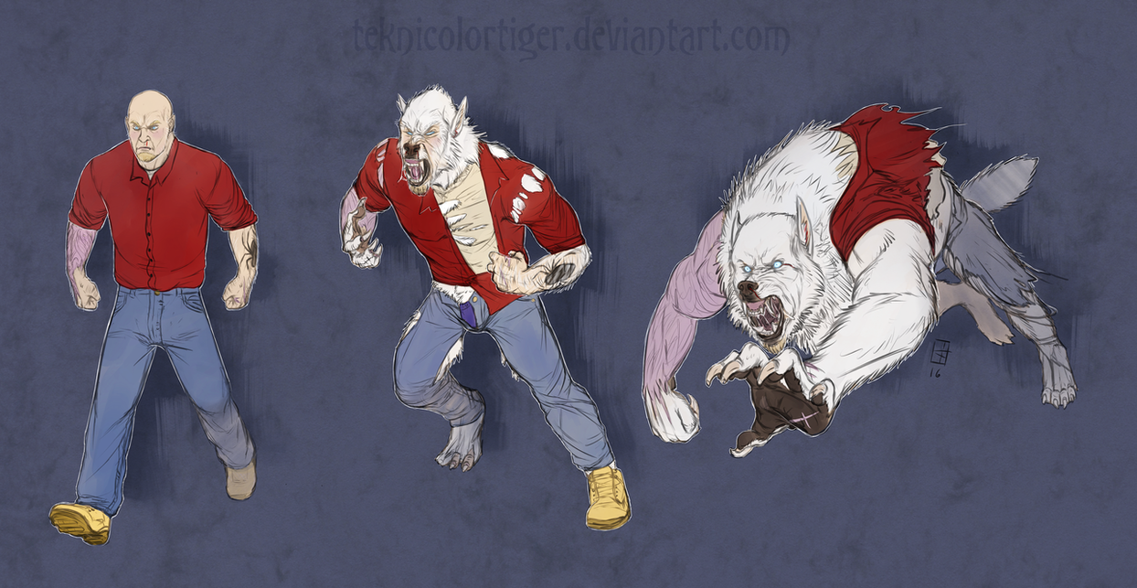 White And Red And Angry All Over by TeknicolorTiger