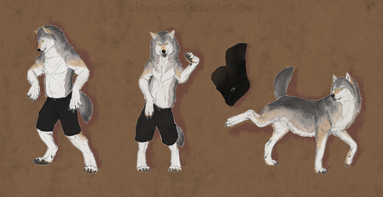 50% More Wolf by TeknicolorTiger