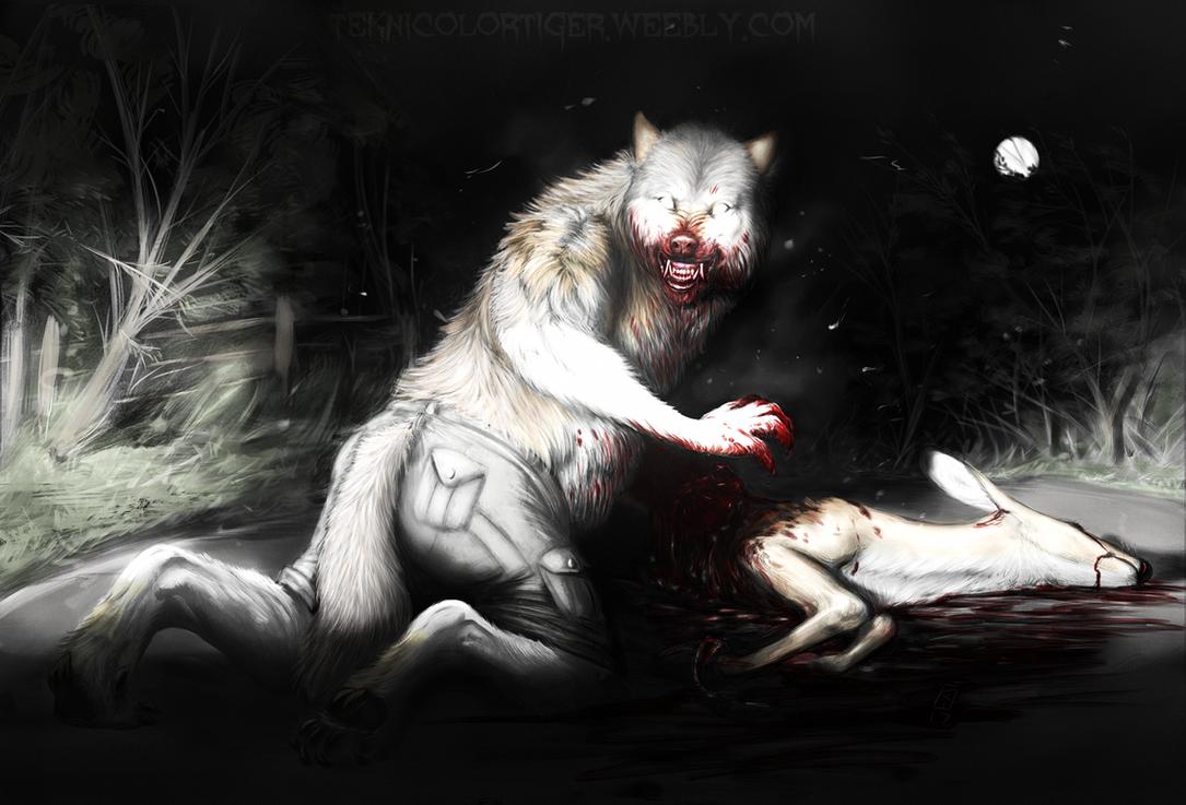 Midnight Snack by TeknicolorTiger