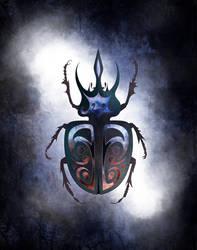 Beetle Royale: Poker Deck, Joker #2 by atomantic