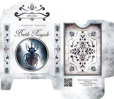 Beetle Run: Poker Deck Box - Light Variant by atomantic