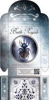 Beetle Royale: Poker Deck Box - Dark Variant