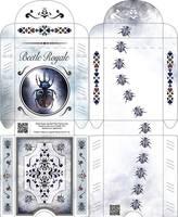 Beetle Royale: Poker Deck Box - Outside and Inside