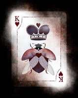 Beetle Royale: Playing Cards, King of Hearts