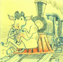 cow catcher by thepostitsproject