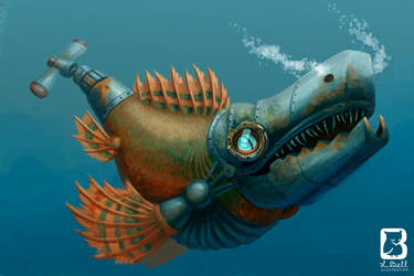 Fishbot by LindseyBell