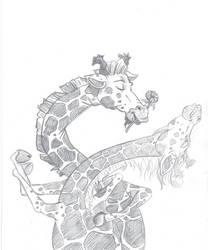 Giraffes by LindseyBell
