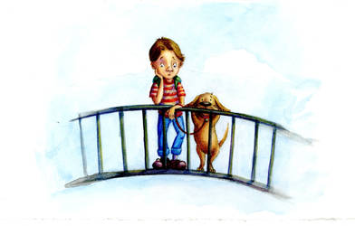 The boy and his dog by LindseyBell
