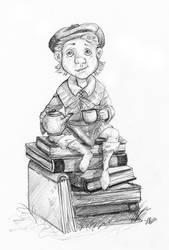 Boy Sketch by LindseyBell