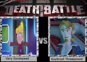Death Battle Gary Goodspeed vs Guybrush Threepwood