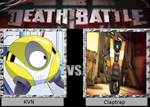 Death Battle KVN vs Claptrap