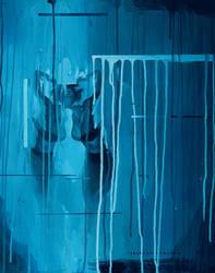 Loli Through Reflection 16in X 20in Acrylic by sanchezart