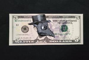 5URFIVE DOLLAR BILL