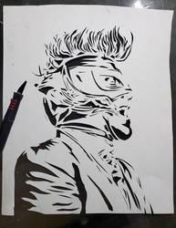 Maynard James Keenan Stencil